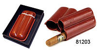 Футляр для 2-x сигар Angelo, Арт. 81203, цвет коричневый