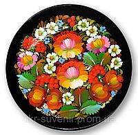 Тарелка с украинской росписью, фото 1