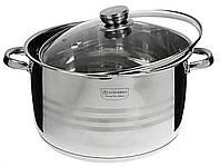 Кастрюля на 12 л для приготовления пищи газ, индукция EB3020