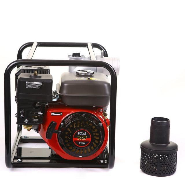 Мотопомпа BULAT BW80/30 (WEIMA WMQGZ80-30, бензин, патрубок 80 мм, 60куб/час)