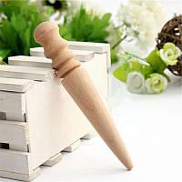 Cликер Деревянная полировочная палочка для полировки края кожи