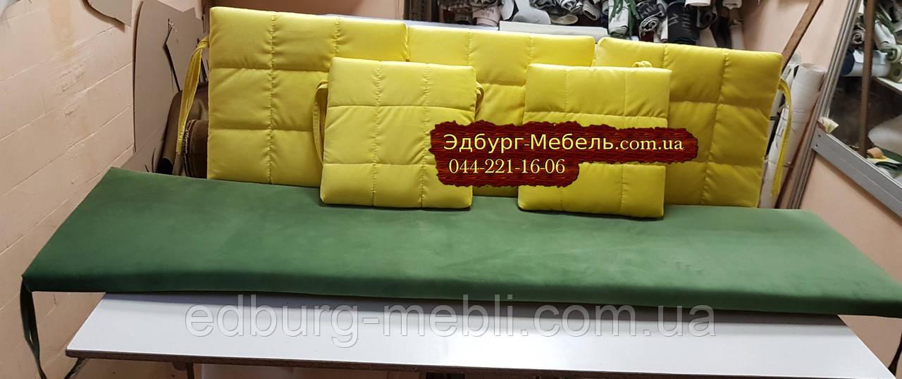 Комплект подушок для меблів з піддонів. ППУ 4см