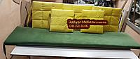 Комплект подушок для меблів з піддонів. ППУ 4см, фото 1