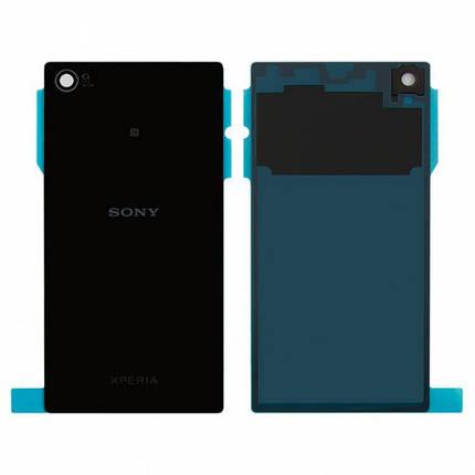 Задня кришка для Sony C6902 L39h Xperia Z1/C6903 чорна, фото 2