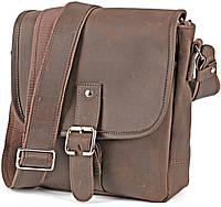 Популярная мужская сумка из винтажной кожи Shvigel 00289