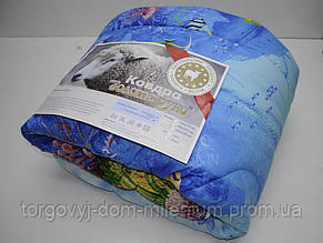 Одеяло Золотое руно размер 180*210 см  наполнитель шерсть, ткань бязь Шерсть,бязь