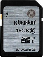 Карта памяти KINGSTON SDHC 16GB Class10 UHS-I R45MB/s