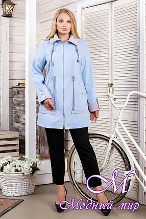 Женская осеннее куртка больших размеров (р. 44-60) арт. 1026 Тон 27, фото 2