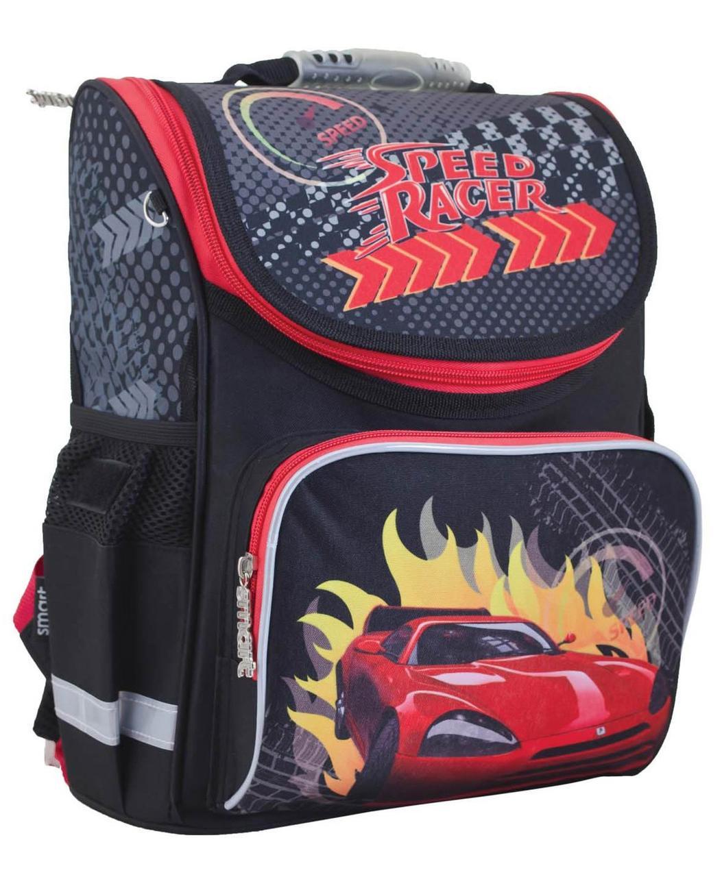 """Школьный рюкзак для мальчика """"Smart"""" PG-11 Speed racer, фото 1"""