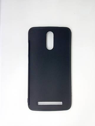Силиконовый чехол для Homtom HT17 черный, фото 2