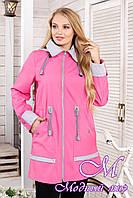 Женская осеннее куртка большого размера (р. 44-60) арт. 1026 Тон 38