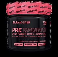 BioTechПредтреник для девушек  Pre Workout Drink Powder (120 g )
