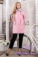 Женская осеннее куртка большие размеры (р. 44-60) арт. 1026 Тон 39