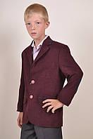 Пиджак велюровый классический для мальчика (ADA color 514) Palmiro rossi 4084/514 Размер:36,38,46