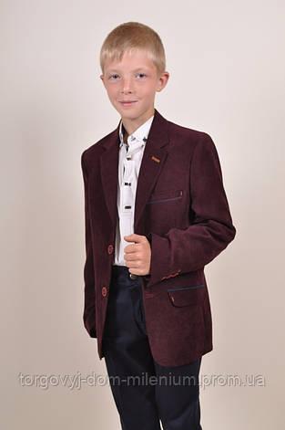 Пиджак велюровый классический для мальчика (ADA color 7514) Palmiro rossi 4084/7514 Размер:44, фото 2