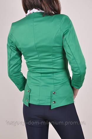 Пиджак женский (цвет зеленый) 514 Размер:42, фото 2