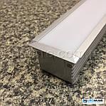 Профиль для светодиодной ленты PML 410 (c крышкой) алюминиевый 44(35)x35 мм