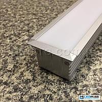 Профиль для светодиодной ленты PML 410 (c крышкой)