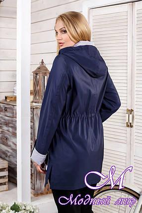Женская демисезонная куртка большого размера (р. 48-60) арт. 1026 Тон 574, фото 2