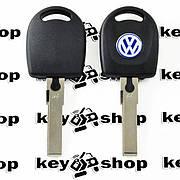 Автоключ Volkswagen (Фольксваген) с чипом ID48, лезвие HU66