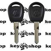 Ключ для Volkswagen (Фольксваген) с чипом T5, лезвие НU49