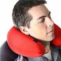 Подушка для путешествий Neck Massage Cushion
