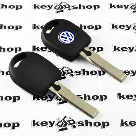 Корпус авто ключа под чип для VOLKSWAGEN (Фольксваген) с подсветкой, фото 2