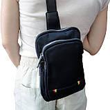 Рюкзак-сумка  ДИАГОНАЛЬ для денег, 24х16х6 см., фото 2