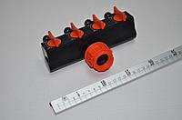 Планка адаптер с распределителем с 4-мя запорными кранами PB 1 ТМBRADAS ECO-PWB3033
