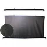 Штора автомобильная ролетная солнцезащитная PVC 90 PVC100 PVC110 PVC120 чёрно белая