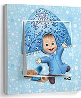 Выкл 1ный  Viko KARRE Маша- Снегурочка