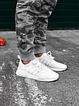 Кроссовки Adidas NMD R1 Reflective White 3M. Живое фото! Топ качество! (Реплика ААА+), фото 2