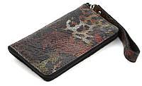 Удобный кожаный чехол-футляр для телефона с печатным рисункоммолнии med (100903)