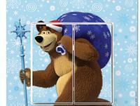 Выкл 2ной  Viko KARRE Медведь с подарками