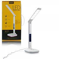Настольная лампа светодиодная с термометром и ночником, фото 1