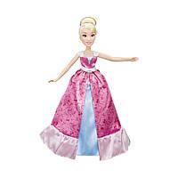 Кукла  Disney Princess Золушка в платье-трансформере Hasbro C0544EU4