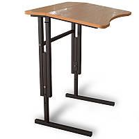 Стол Антисколиозный 1- месный, Аудиторный,регулируемый по высоте для школьников.