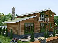 Проектирование дома из оцилиндрованного бревна