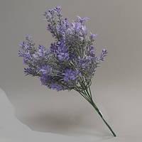 Фиолетовая искусственная лаванда 34см