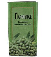 Греческое оливковое масло Parnonas, ж/б 5л