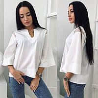 Блузка (42,44,46) —  купить оптом и в Розницу в одессе 7км
