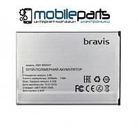 Оригинальный аккумулятор АКБ (Батарея) Bravis Bright | A501 2000mAh 3.8V