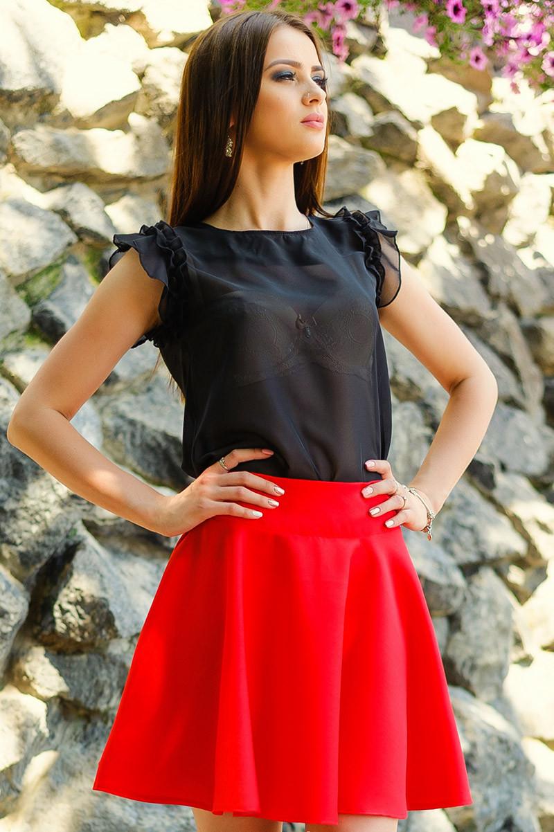 """Красные юбки """"BURBERRY""""в розницу и оптом"""