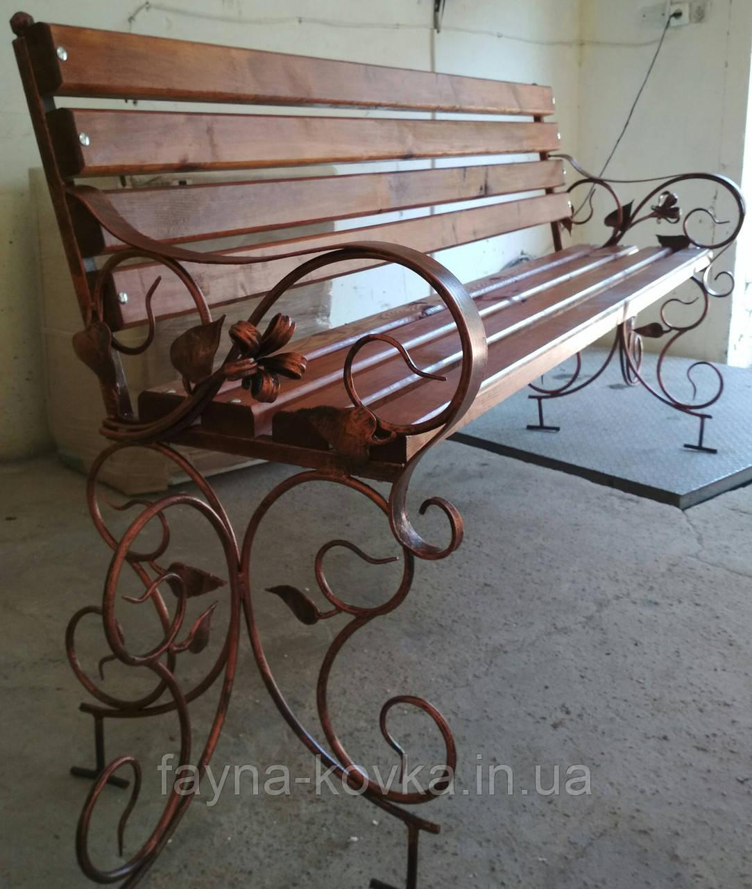 Кованая скамейка./Лавка кована  2200