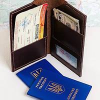 Кожаный кошелек (тверл кейс) ручной работы Hordi