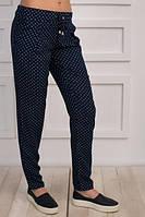 Женские летние брюки штапельние, р.М код 2414М
