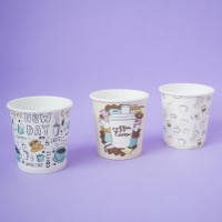 Паперові стакани/бумажные стаканы 110 мл