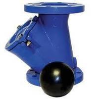 Клапан обратный канализационный фланцевый Ду 300