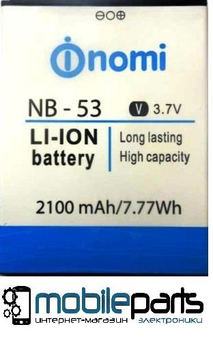 Оригинальный аккумулятор АКБ (Батарея) Nomi i502 | NB-53 (2100mAh 3.7V)