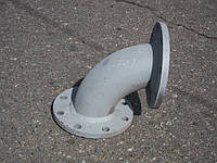 Отвод фланцевый стальной Ду 100